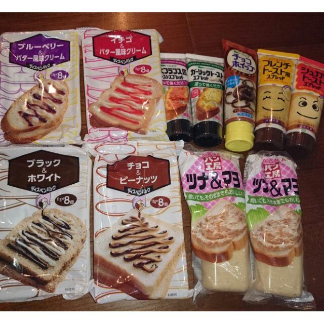 激安 QP 中島醬吐司醬麵包醬大蒜奶酥明太子糖味奶油工房鮪魚沙拉玉米沙拉不沾手果醬