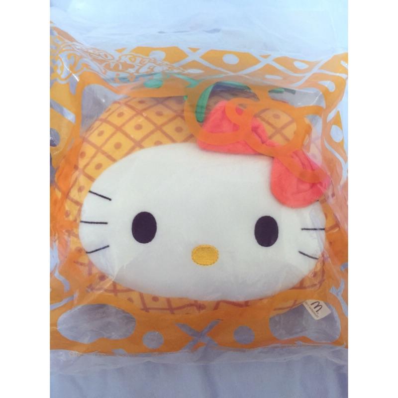 收藏 麥當勞hello kitty 水果抱枕鳳梨