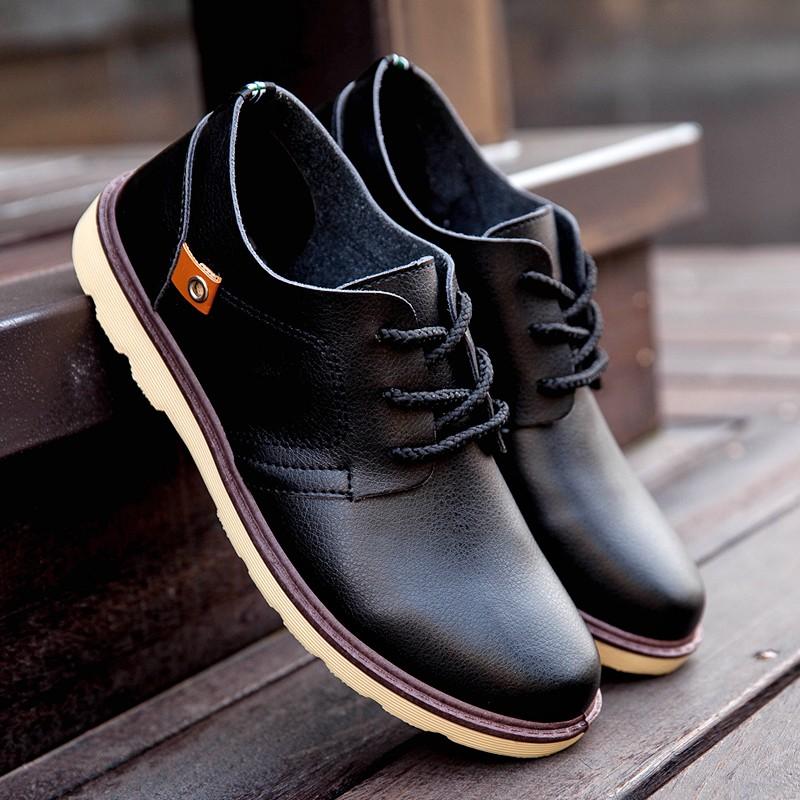男皮鞋懶人鞋休閒鞋 鞋英倫鞋皮鞋球休閒鞋子休閒皮鞋 鞋子 皮鞋春 皮鞋男士商務英皮革圓頭
