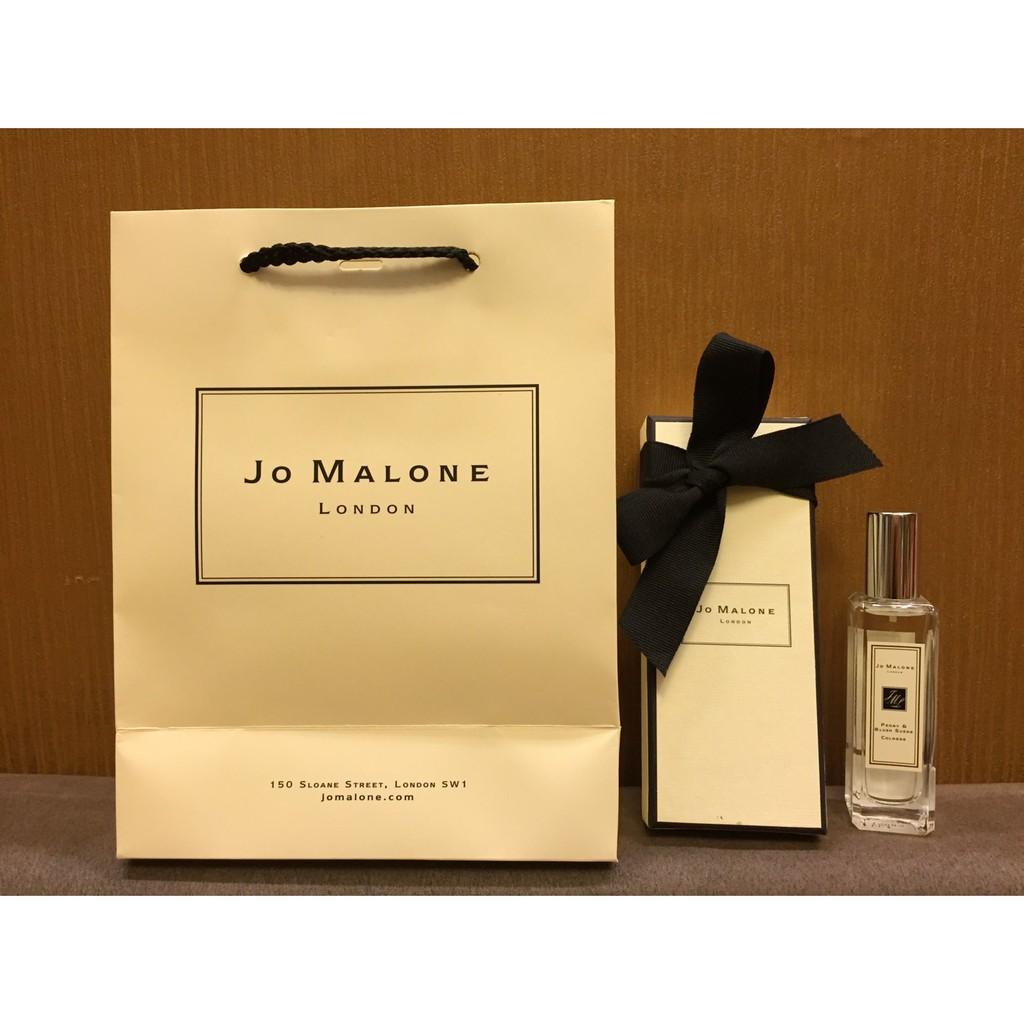 JO MALONE 30ML 玫瑰海鹽藍風鈴英國梨牡丹白茉莉小黃瓜澄花黑莓154 附盒紙袋