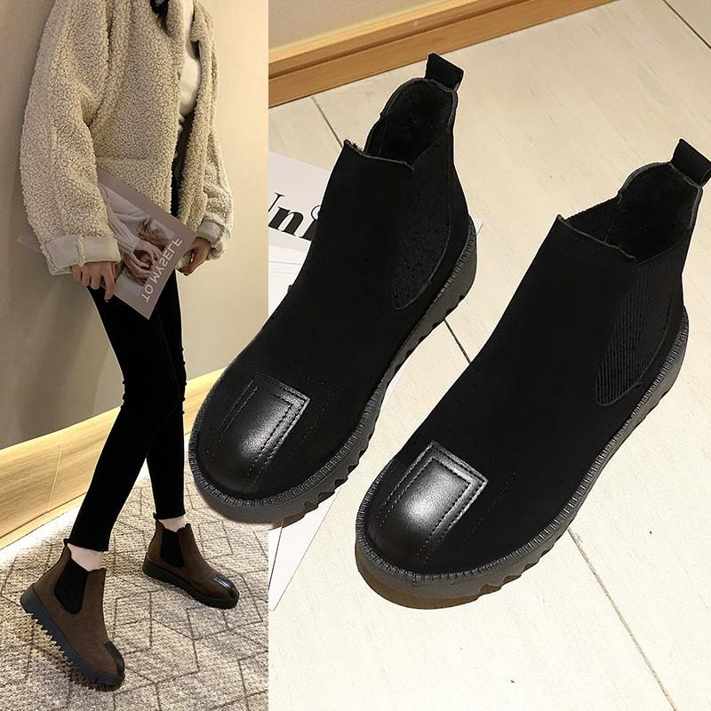 現貨出售訂單滿188出貨Women's shoes, ankle flat boots,size 35-40,馬丁短靴女