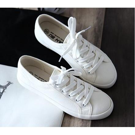 穿搭 好穿好搭帆布小白鞋舒適帆布鞋休閒鞋兩款