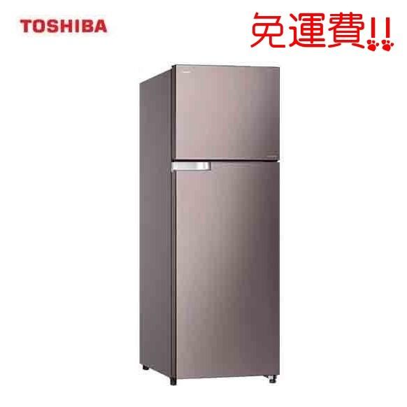 ~TOSHIBA 東芝~359L 雙門變頻抗菌冰箱GR T41TBZ DS 雅爵灰色送 舊