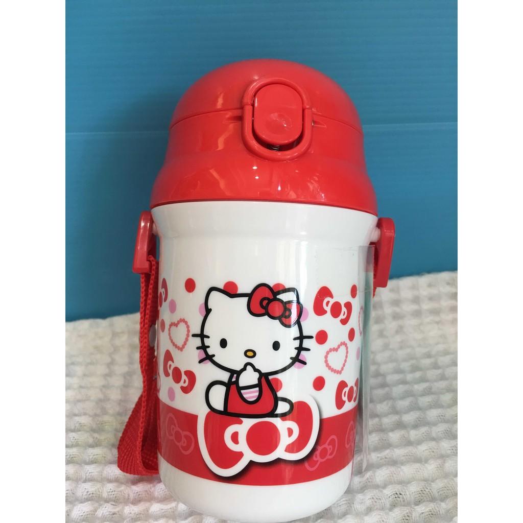 陽光屋 SKATER 卡通 彈跳吸管水壺340ML Sanrio Kitty