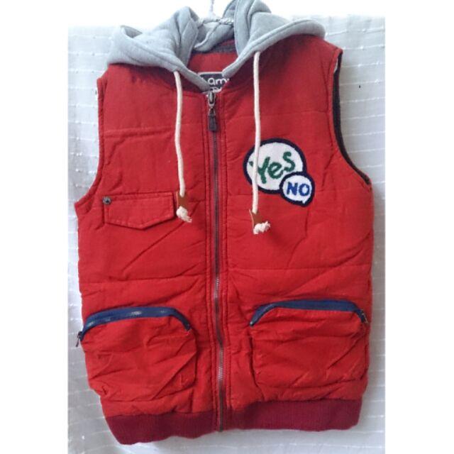 韓國 兒童背心外套