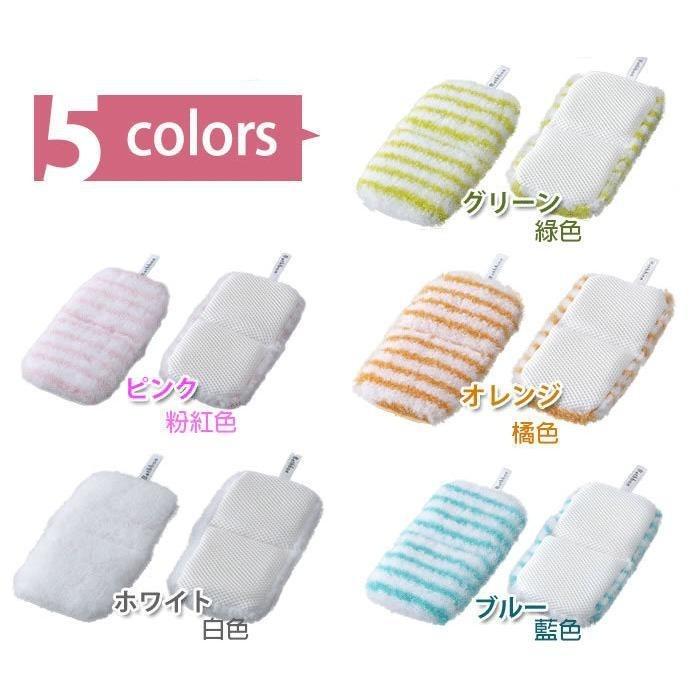 日韓Online 小海豹浴室海綿擦3 色顏色 出貨山崎海棉刷輕巧方便好刷好清洗
