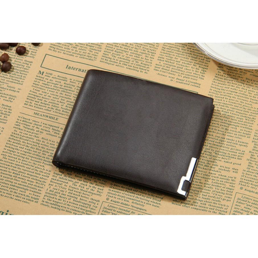 男士錢包橫款青年學生皮夾簡潔超薄錢夾