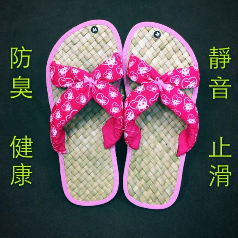 天然編織涼鞋(草編鞋)