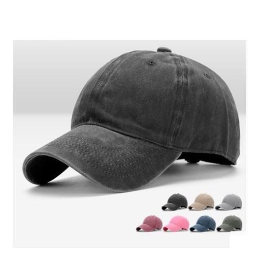 復古水洗棒球帽老帽帽子鴨舌帽男