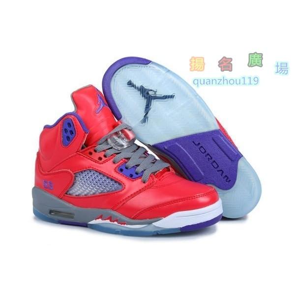 Nike Air Jordan 5 Retro GS AJ 5 代女生籃球鞋新配色情人節大