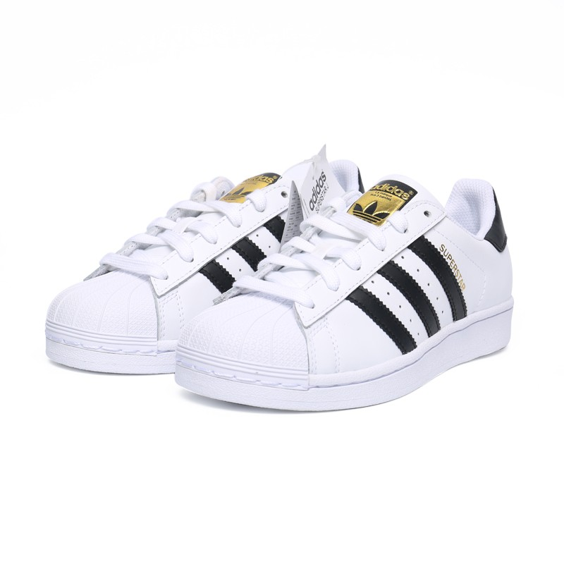 Adidas Superstar Originals 金標貝殼頭男鞋女鞋情侶款愛迪達三葉草