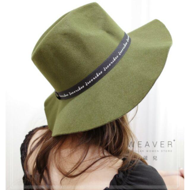 毛呢紳士帽3 色2295 58 WEAVER