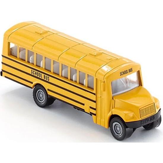 德國SIKU 合金小汽車1319 USA SCHOOL BUS