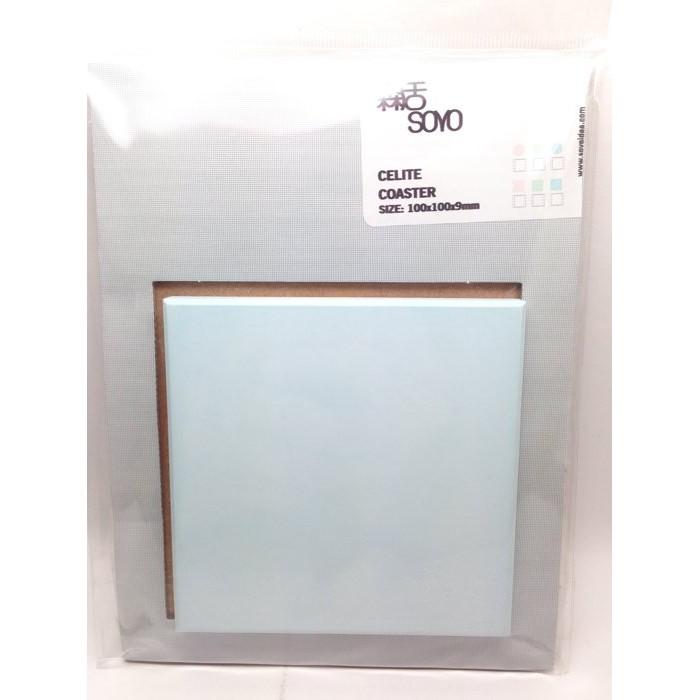 ~圓臻~天然硅藻土吸水皂墊矽藻土杯墊吸水墊珪藻土除臭除濕除溼排除異味100 100 9MM