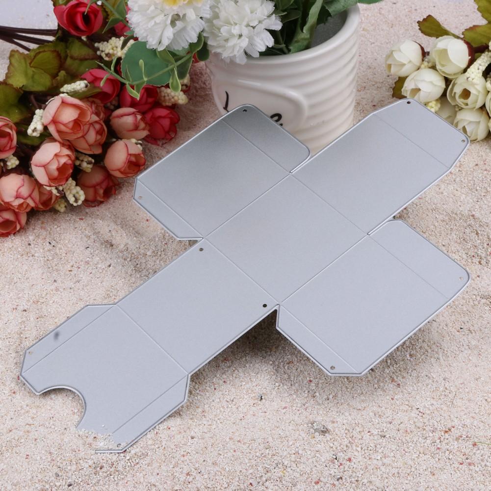 飾品剪紙卡剪貼簿金屬切割模具方糖果 DIY 相冊裝飾壓花模具卡片範本