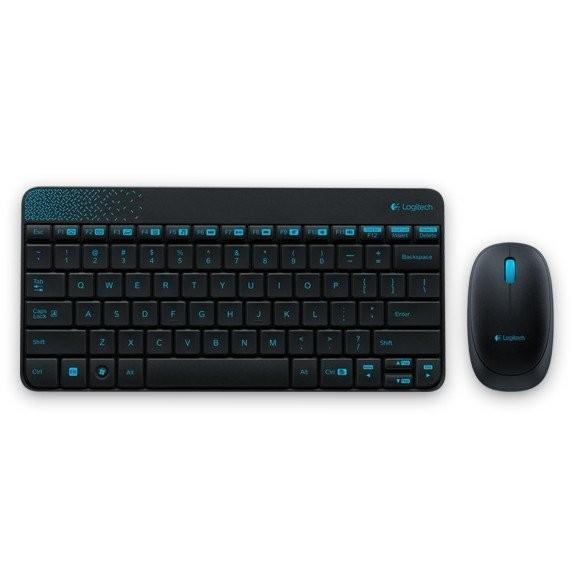 羅技Logitech MK240 無線鍵盤滑鼠組黑