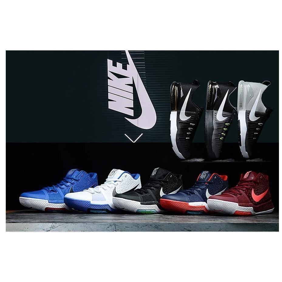Nike Kyrie 3 耐吉凱裡歐文3 代聖誕節武士道男鞋室內外籃球鞋 配色