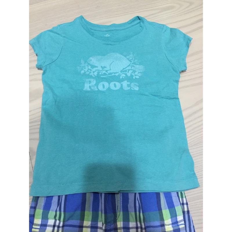 Roots kids 男童上衣