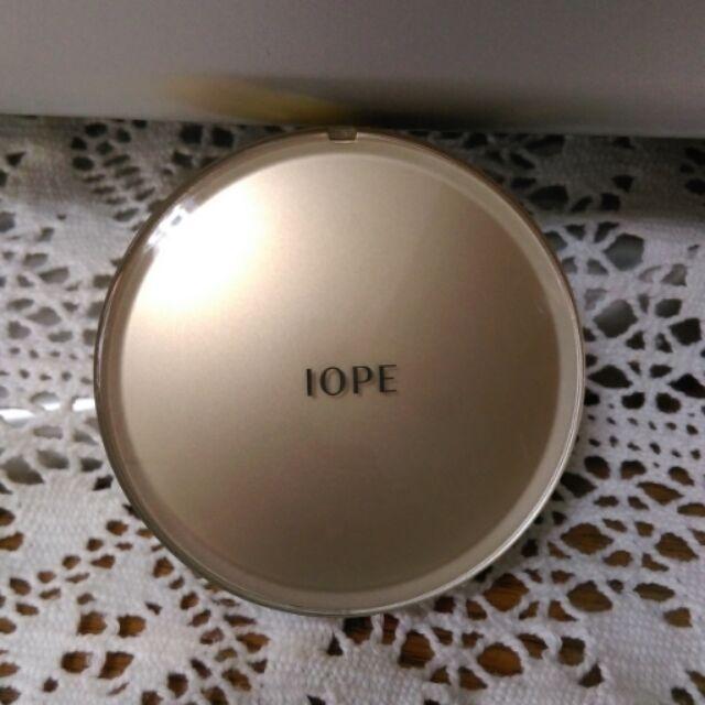 正品Iope 黃金版氣墊粉餅空粉盒第四代不