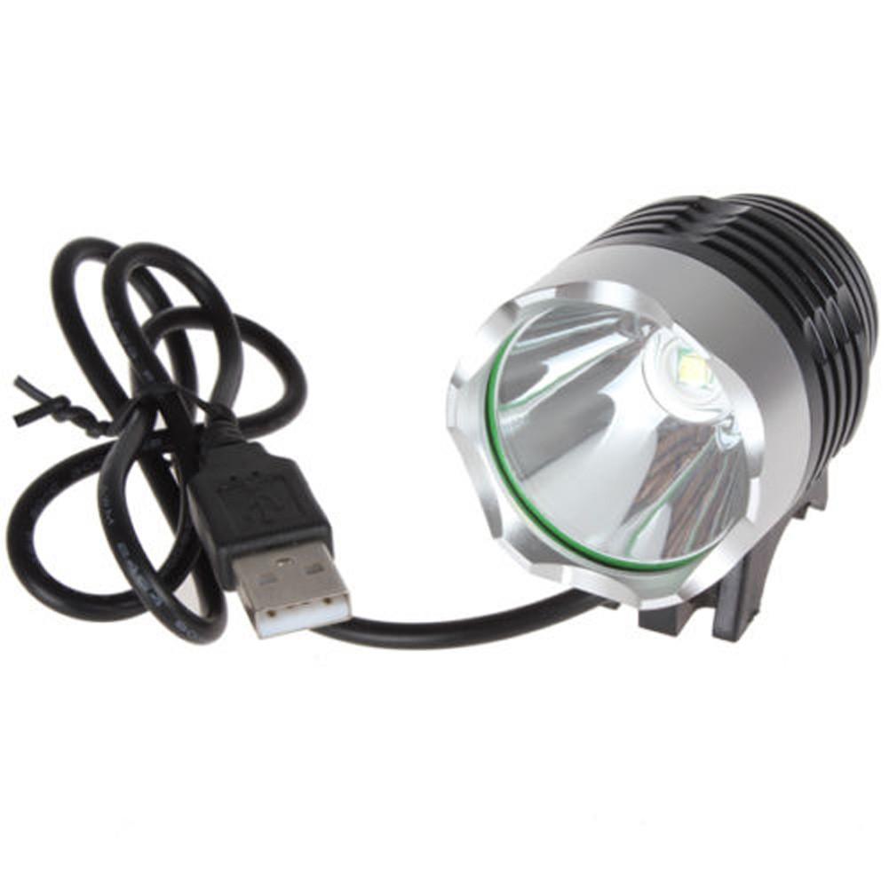 DC 介面1200 流明T6 自行車燈前燈分體式多 超遠射超亮頭燈