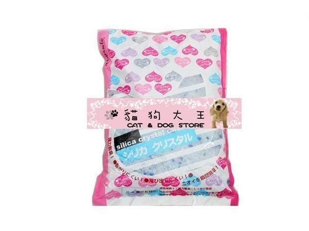 貓狗大王阿曼特AMT 原味水晶貓砂 240 元5 包