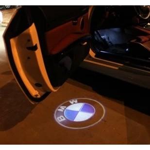 BMW 寶馬款迎賓燈車門燈照地燈汽車投影燈高清立體車標燈E60 E90 E66 E87 E