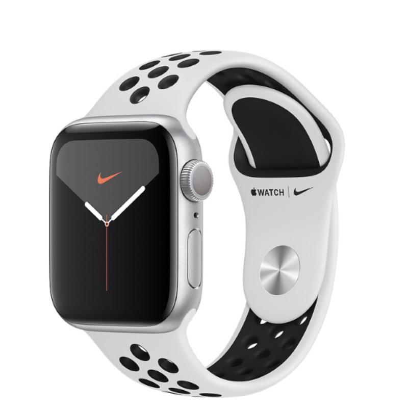 全新 Apple Watch series 5 GPS 44mm,太空灰、Nike運動型錶帶,誠可議