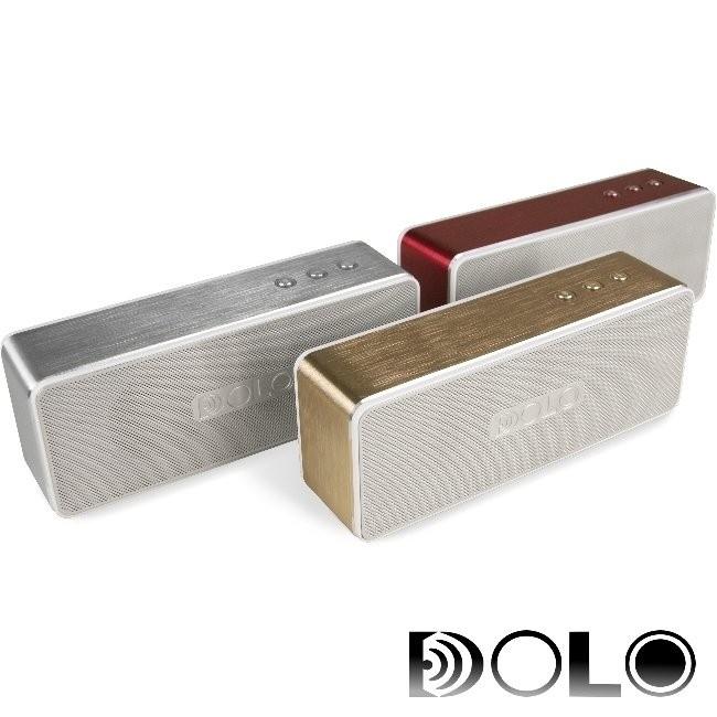 限期 DOLO 晶鑽DIAMOND 鋁合金藍牙無線音響G2002 銀金紅藍芽喇叭