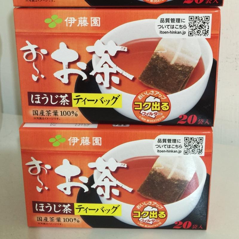 大 伊藤園紅茶包,另售伊藤園綠茶包(ㄧ盒有20 小包)