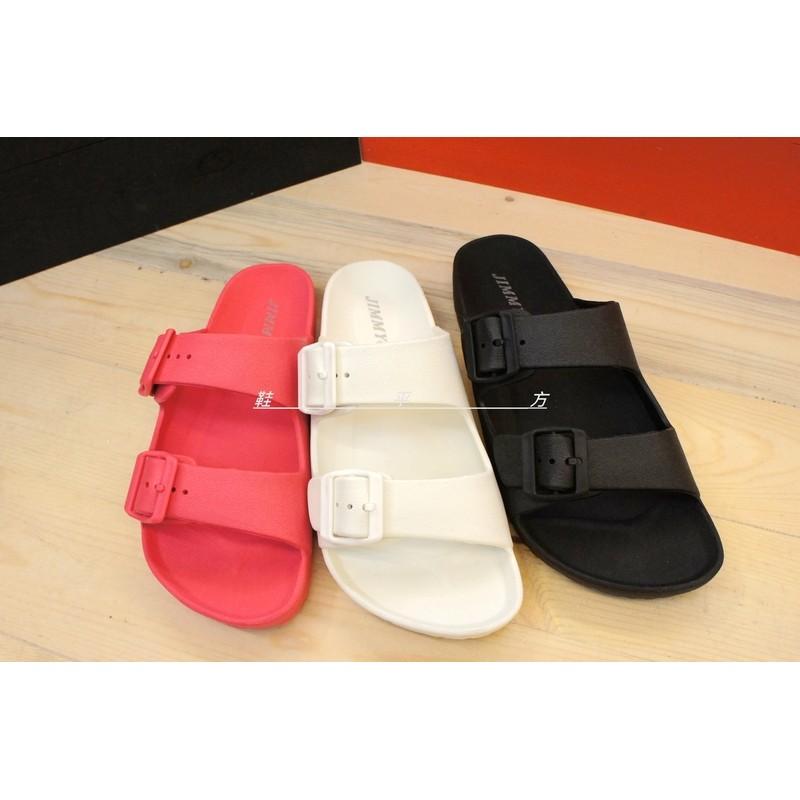 爆款 可調式釦環帶防水橡膠勃肯拖鞋