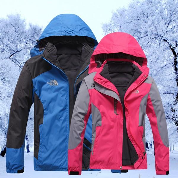 THE NORTH FACE TNF  男款區兩件式內裡可拆一衣兩穿防風防水外套厚款