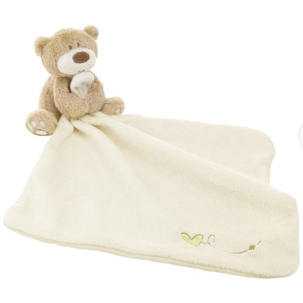 英國原單小熊安撫巾玩具嬰兒睡眠安撫玩具毛絨玩具