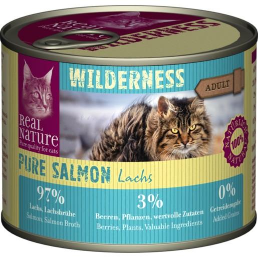 德國REAL NATURE WILDERNESS Pure Salmon Lachs 貓食