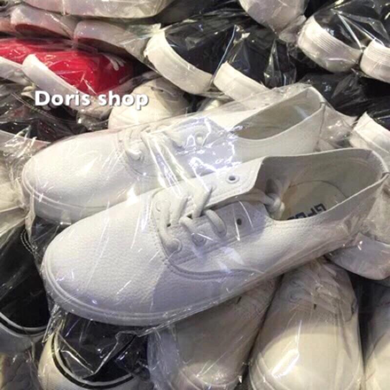 一雙超級好穿的韓國小白鞋平底鞋皮鞋平底小白鞋2016 百搭小白鞋平跟女鞋繫帶小皮鞋休閒鞋韓