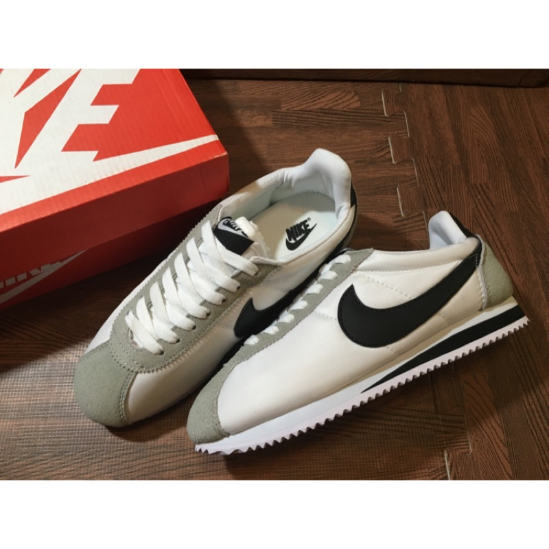 Nike Cortez 尼龍拼接麂皮阿甘鞋
