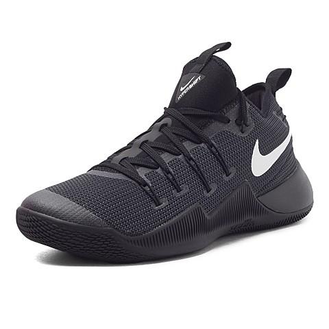 NIKE HYPERSHIFT EP 黑白白勾XDR 耐磨底黑低筒籃球鞋844392 01