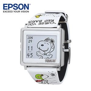 EPSON Peanuts Flying Ace 史努比王牌飛行員手錶 精工 輕巧薄型外觀