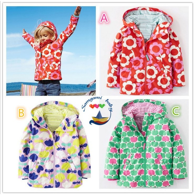 大牌外套風衣❤ 外貿大牌女童防風可愛外套風衣❤ ❤雨媽商城❤