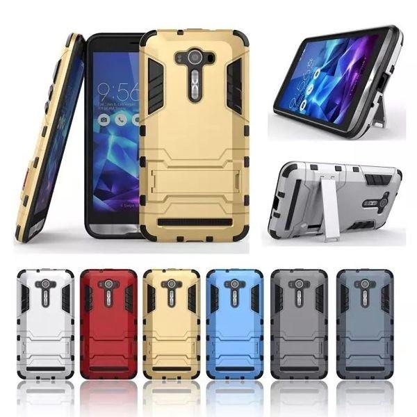 新爆款華碩ZenFone 2 Laser 5 5 手機殼ZE550KL 鋼鐵俠手機套全包邊