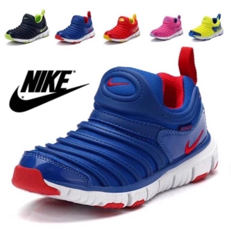 毛毛蟲NIKE 糖果色毛毛蟲兒童 鞋慢跑鞋球鞋布鞋童鞋男女童鞋