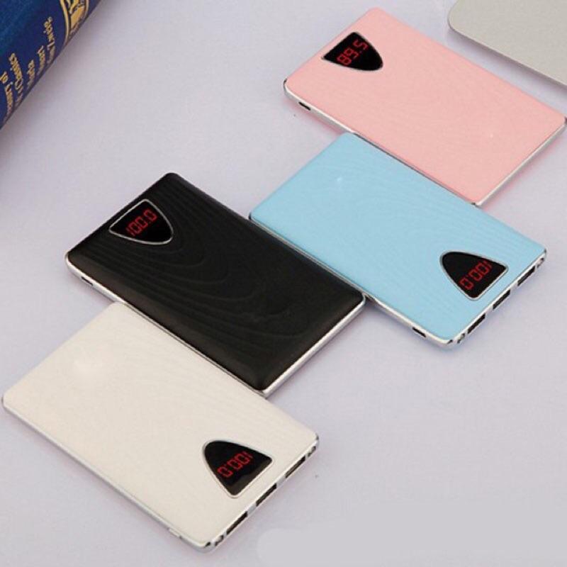 超薄20000 毫安蘋果VIVO 手機行動電源顯示屏幕
