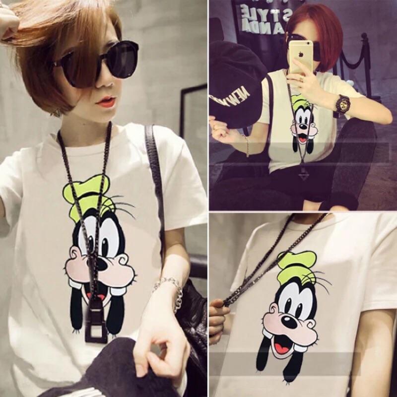 KX ~可愛卡通印花短袖T 恤~M XXL ~每日穿搭春夏新品百搭單品 蝦皮拍賣Kuang