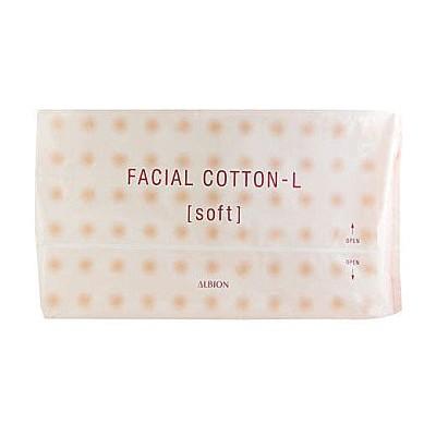 阿猴達可達ALBION 艾倫比亞按摩化妝棉120 片包健康化妝水濕敷滲透乳按摩180 元