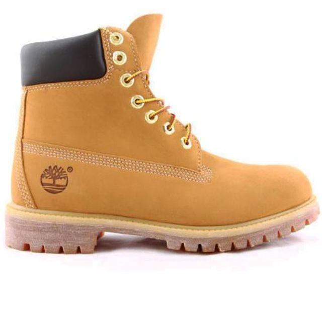 24HR#限時優惠~全新!Timberland 經典款男黃靴(小麥色)