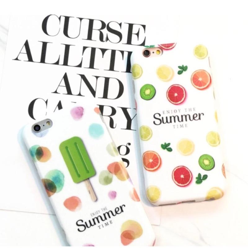 夏日清新水果iphone6 iphone6plus 手機保護套手機殼
