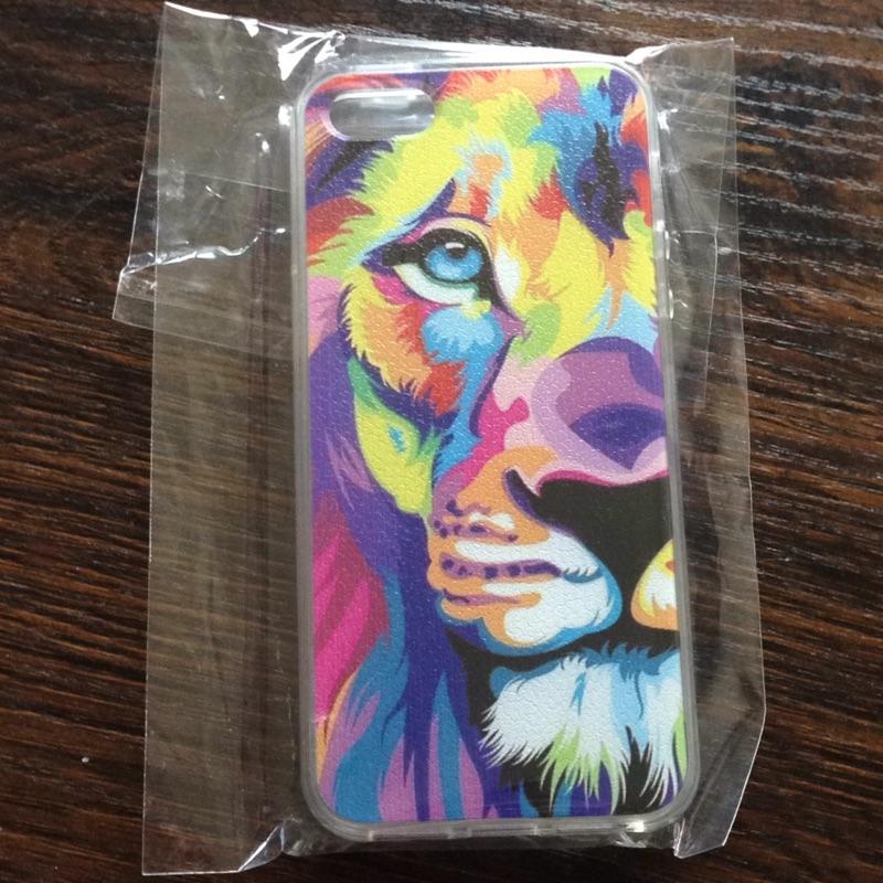 i5 i5s iphone5 5s 手機殼彩色虎頭