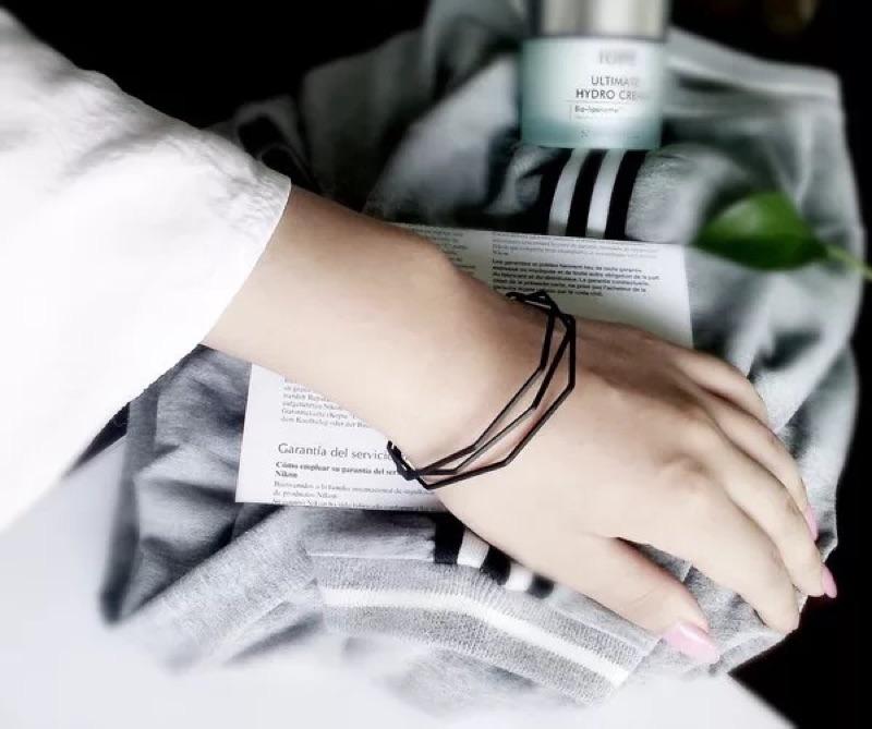 24H 出貨‼️韓風韓款不規則多邊形手環氣質簡單大方