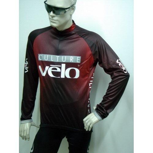 澳大利亞VELO 車隊版 長袖自行車衣長袖L 厚款內裡刷毛超彈性超強防風面料