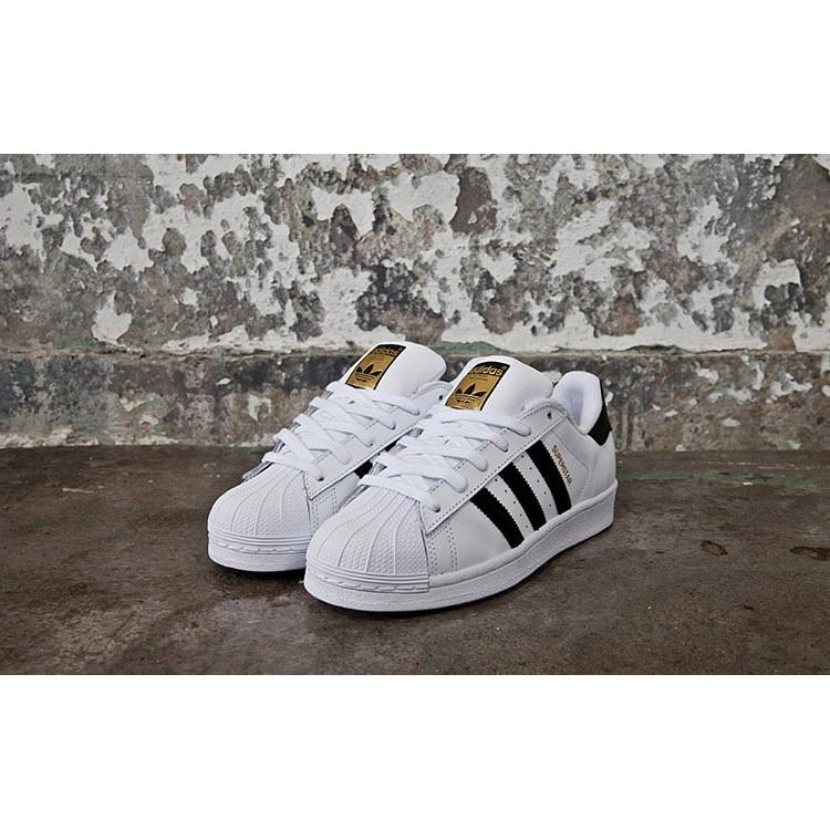 正品 Adidas Originals superstar 金標休閒鞋愛迪達超輕量慢跑鞋情
