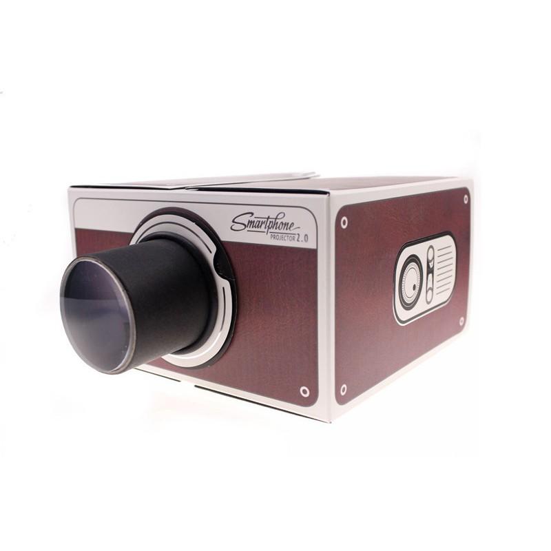 DIY 智能手機投影機簡易 智能手機投影儀SmartPhone Projector 家庭娛